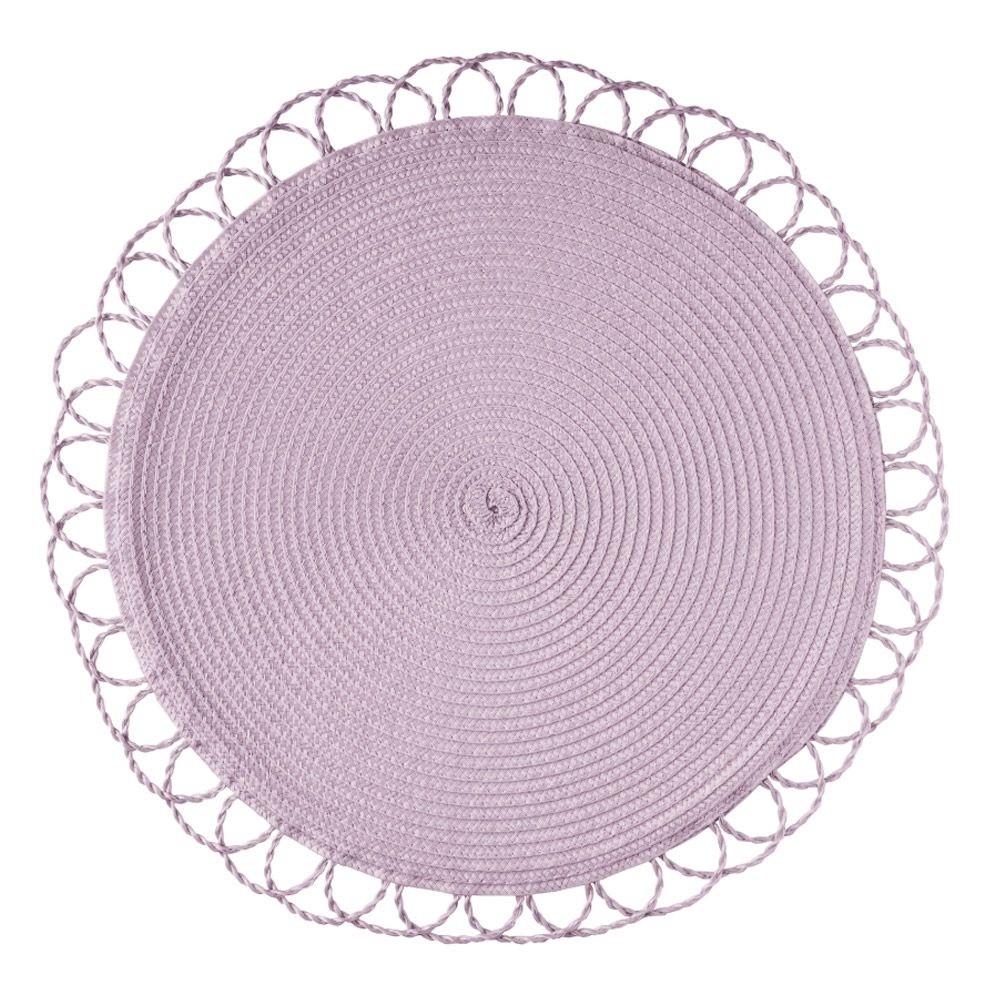 Jogo Americano Luna Soleil - Lavanda - Ø 42 cm