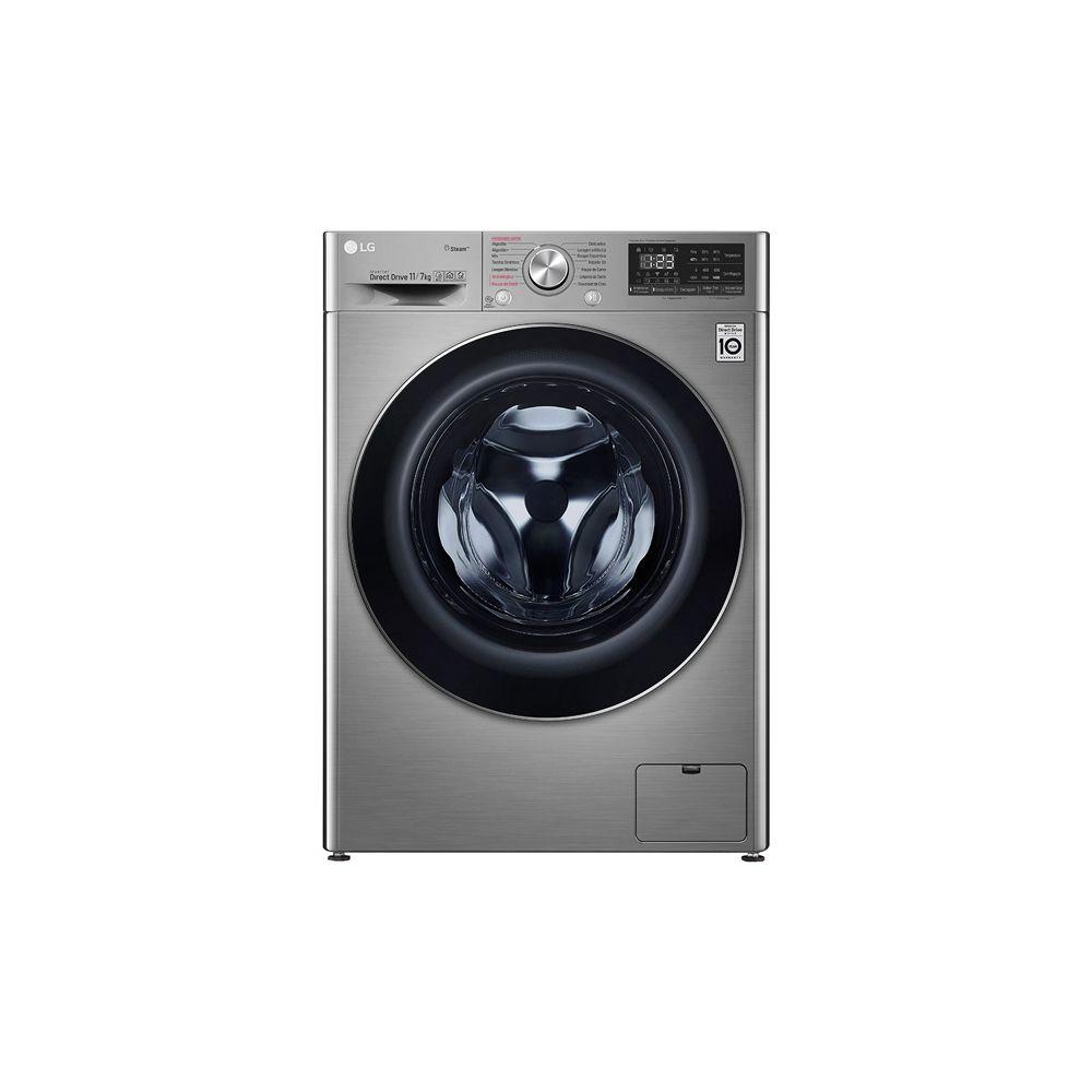 Lava e seca 11Kg LG Smart VC4 11kg, com Inteligência Artificial AIDD™ e Motor Inverter Aço  - CV5011TS4 - 127V