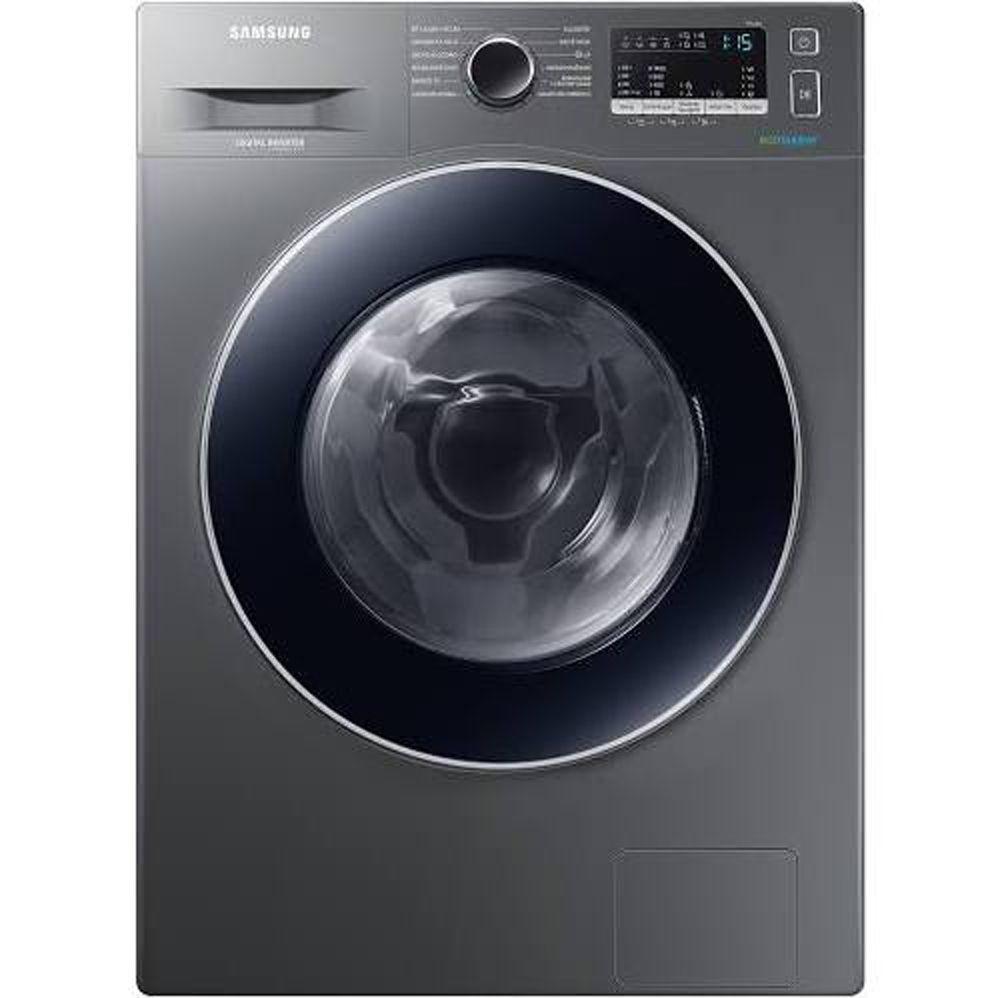 Lava e Seca 11Kg Samsung WD4000 com Ecobubble™, com 12 Programas de Lavagem, Inox - WD11M4453JX/AZ - 127V