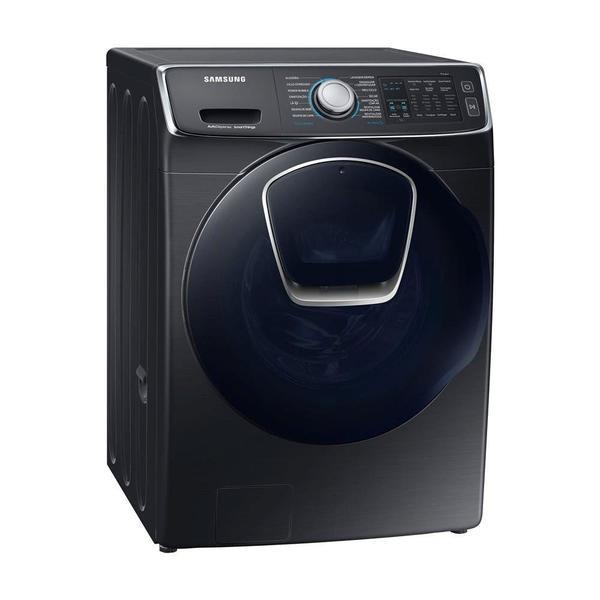 Lava e Seca Samsung WD9500 Conectada (Wi-Fi) com Ecobubble™, Lavagem a Seco e Porta AddWash WD16N8750KV Black Inox 16/9 kg (127V)