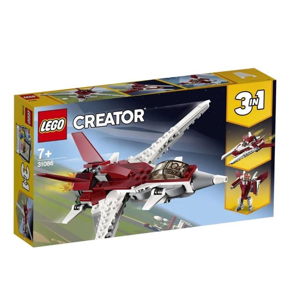 Lego Creator - 3 em 1 - Avião Futurista