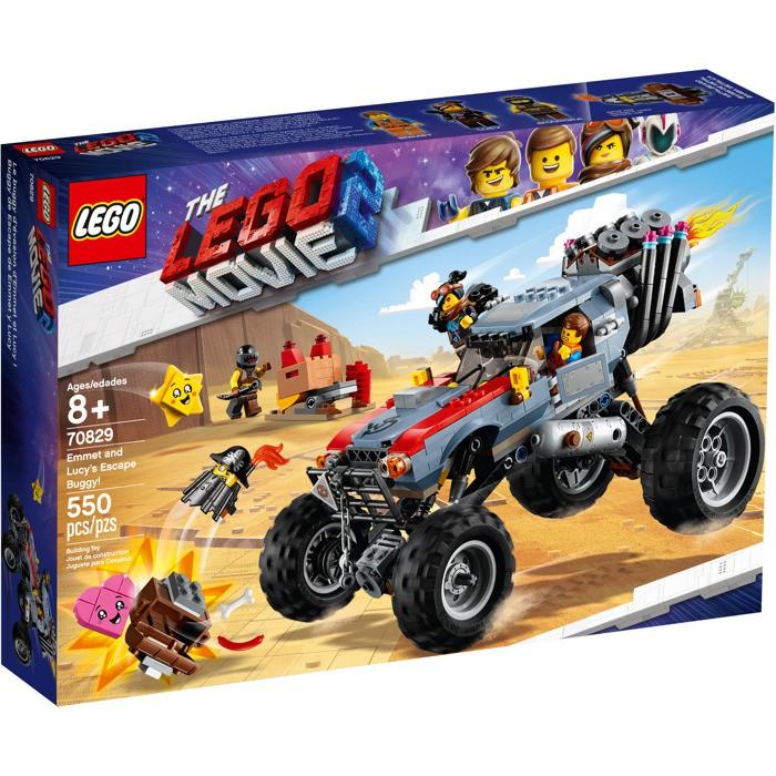LEGO Movie - O Filme 2 - Veículo de Fuga do Emmet e Lucy