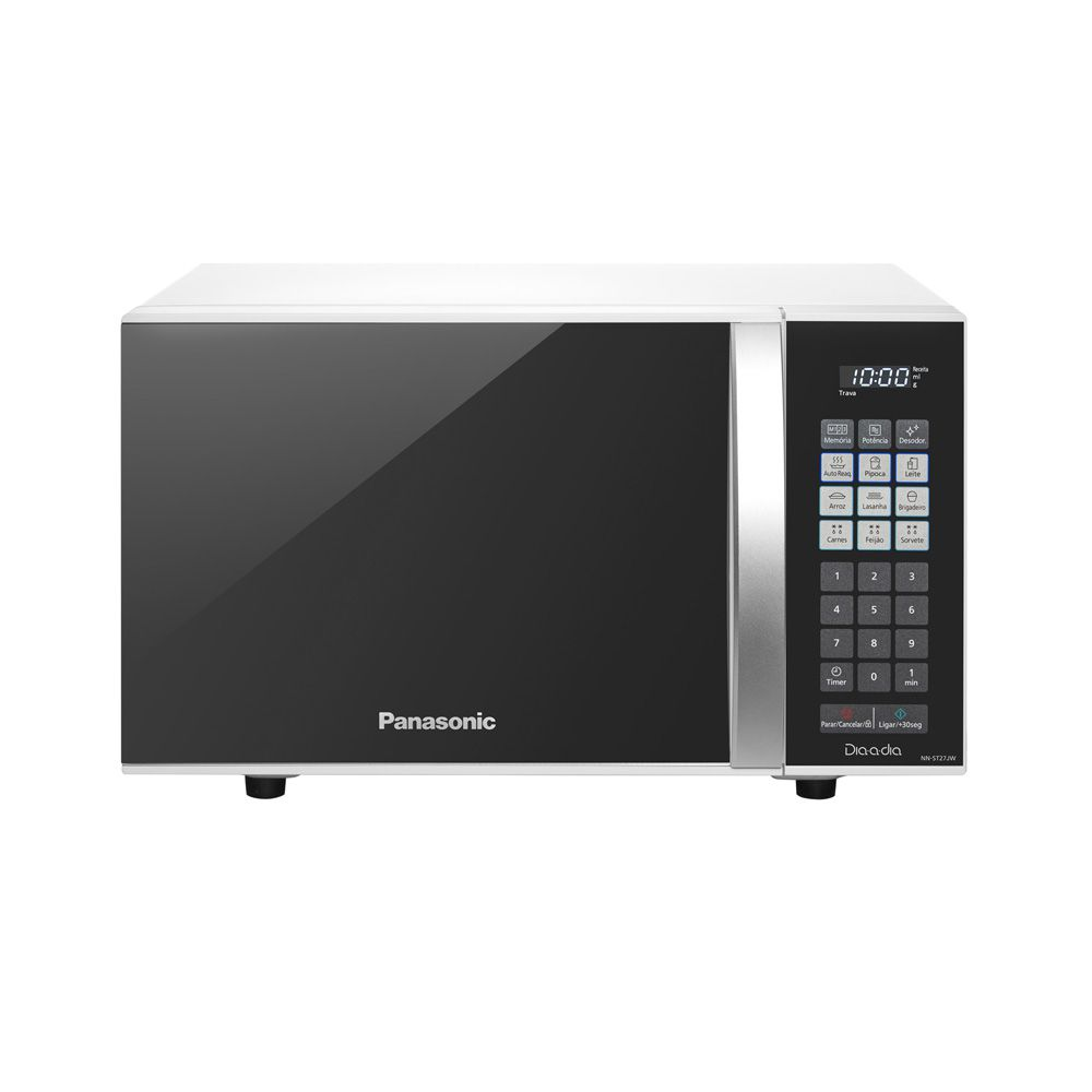 Micro-ondas Panasonic 21L Dia A Dia Espelhado NN-ST27JWRUN - 127v