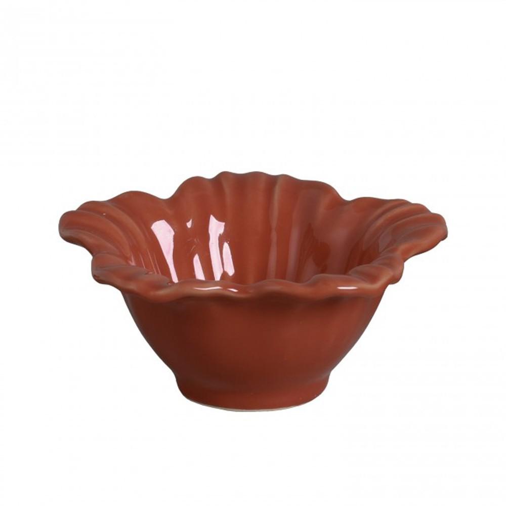 Petisqueira Campestre Cantaloupe Em Ceramica - Conjunto de 6 Unidades - 179 ml