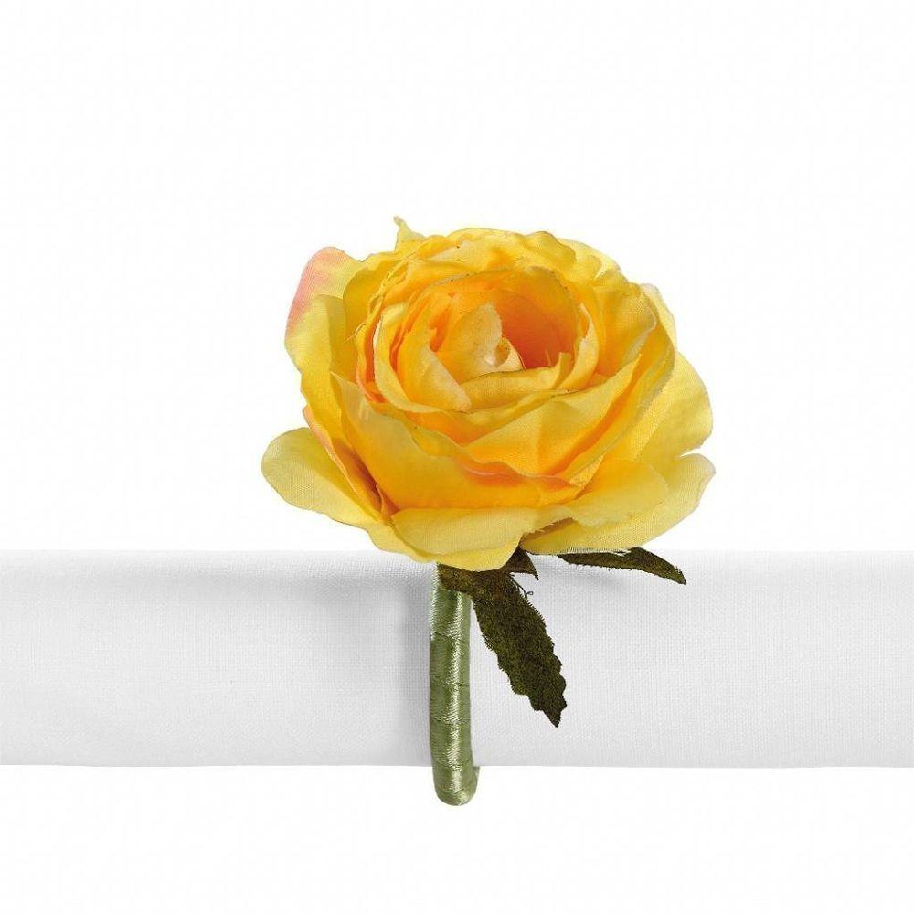 Porta Guardanapo Primavera Rosa Amarela