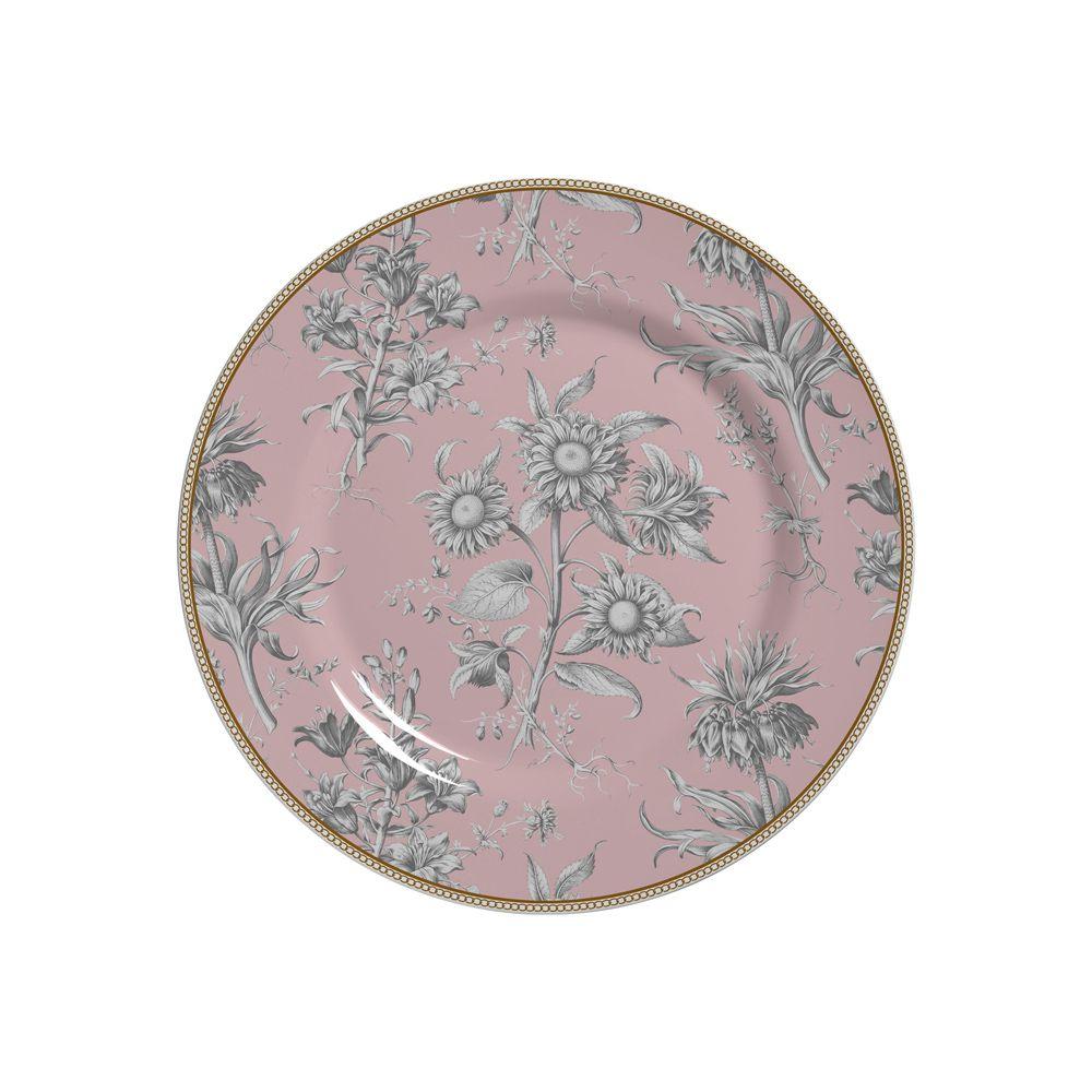 Prato de Sobremesa Giardino Em Ceramica - Conjunto de 6 Peças