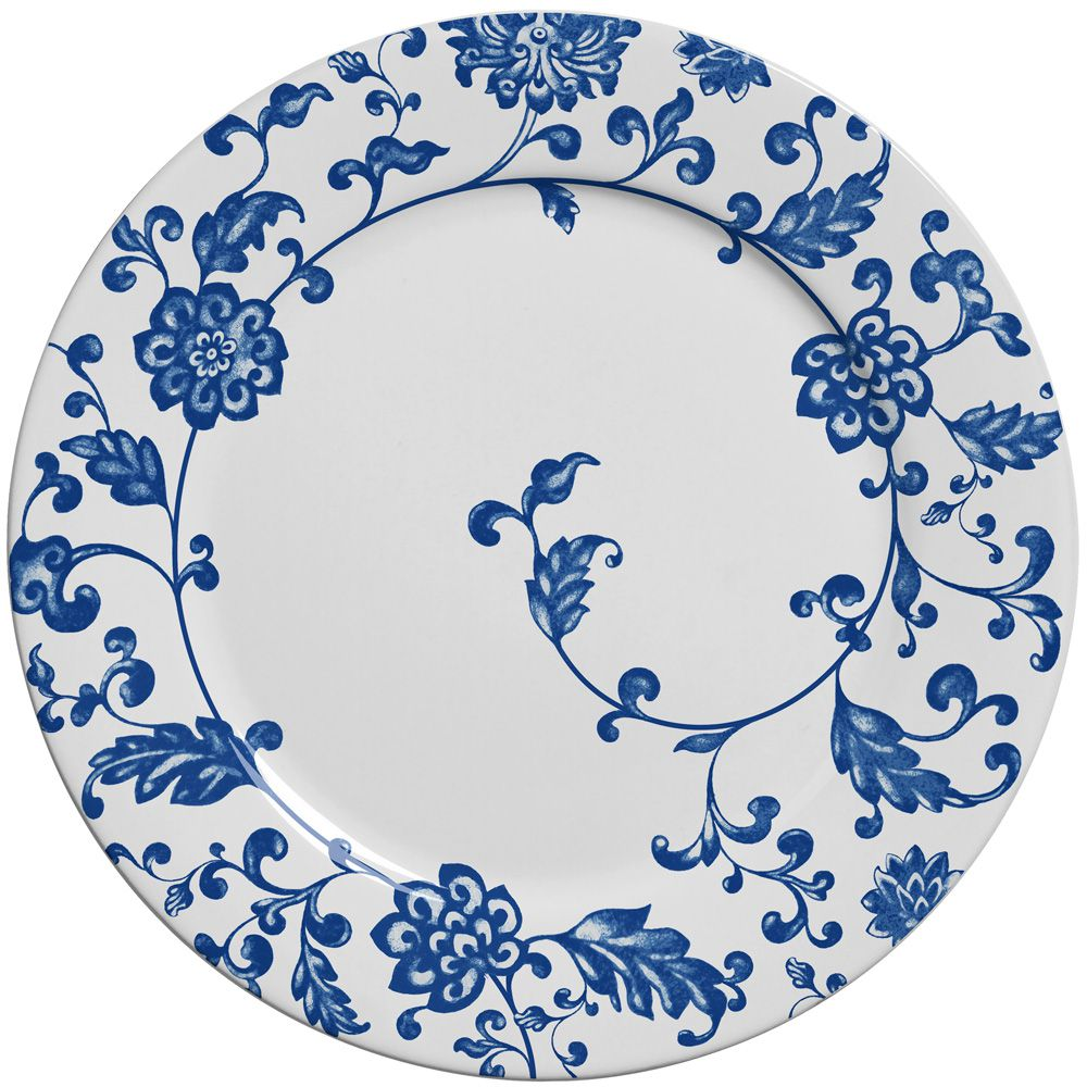 Prato Raso La Chinoise em Cerâmica - Conjunto de 6 Peças