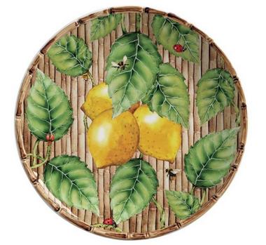 Prato Sobremesa San Remo Limon