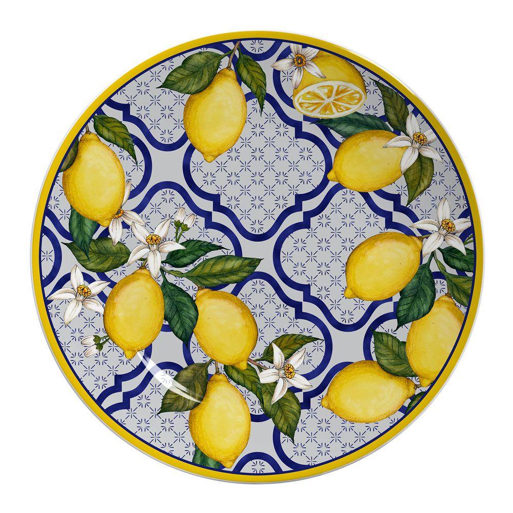 Sousplat Sicilia em Ceramica - Ø 34 cm