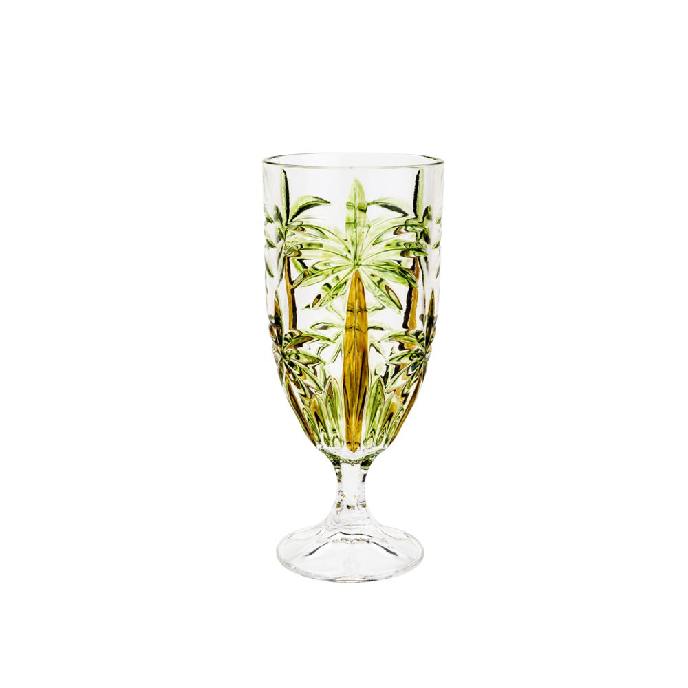 Taça de Cristal Wolff Palm Tree Sprayed - Conjunto de 6 unidades - 450ml