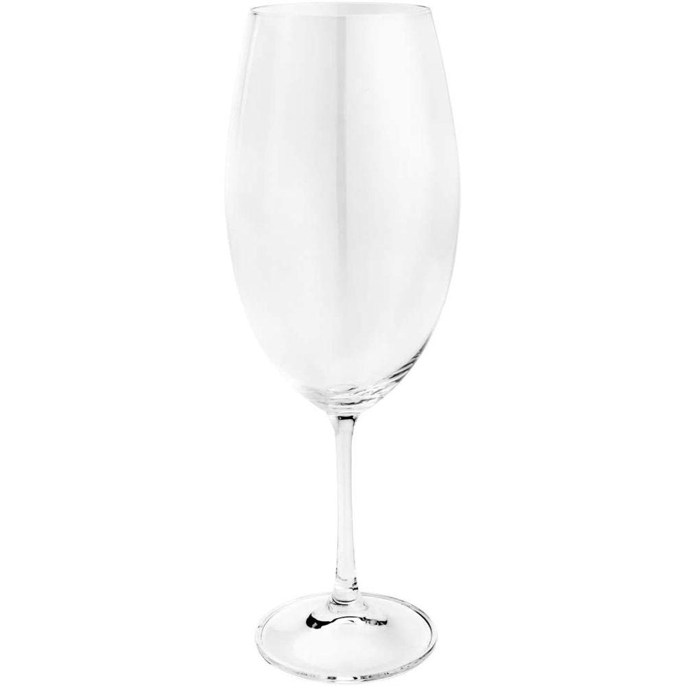 Taça De Vinho De Cristal Ecológico - Conjunto de 6 unidades - 510ml