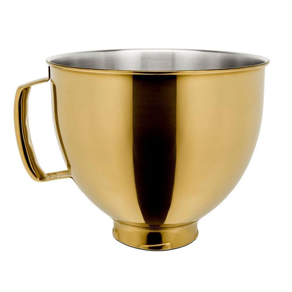 Tigela em Aço Inox Radiant Gold para Stand Mixer - Kitchenaid