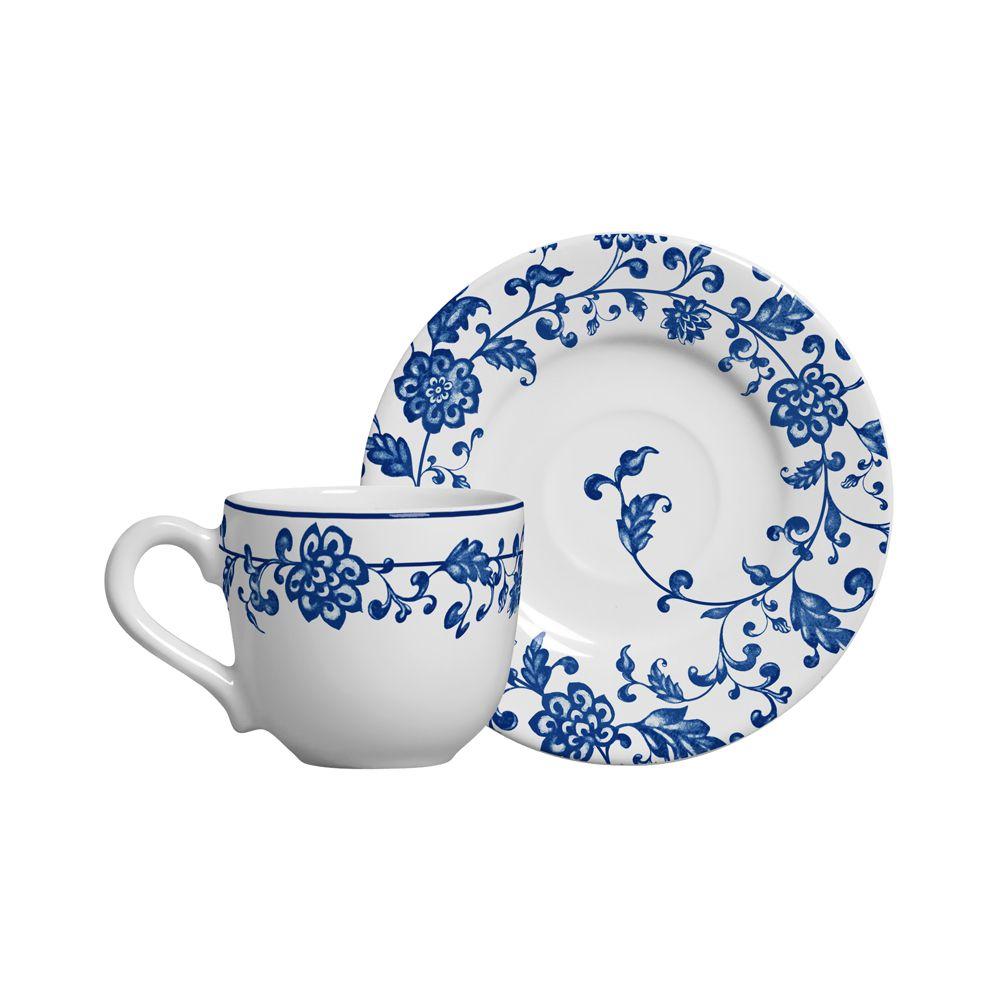 Xicara de Café La Chinoise em Cerâmica - Conjunto de 6 Unidades
