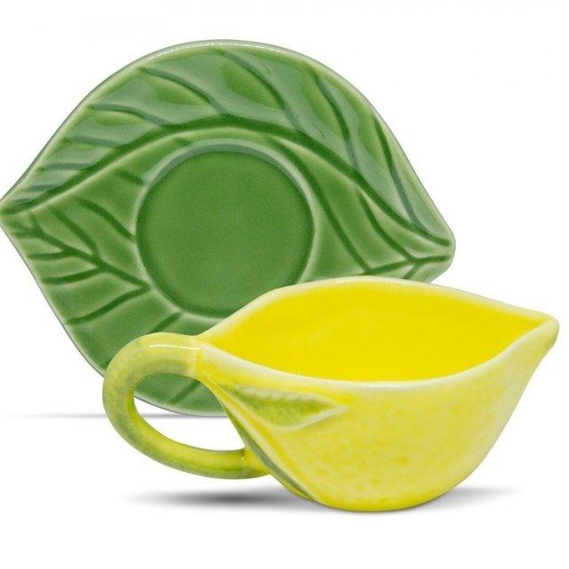 Xícara de Chá com Pires Limão - 250ml