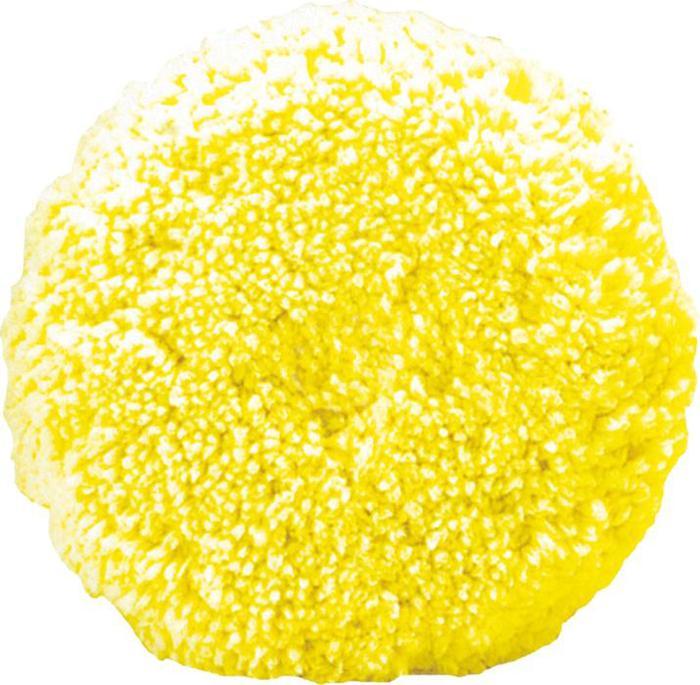 Boina De Lã Dupla Face Amarela Macia Buff And Shine Importada