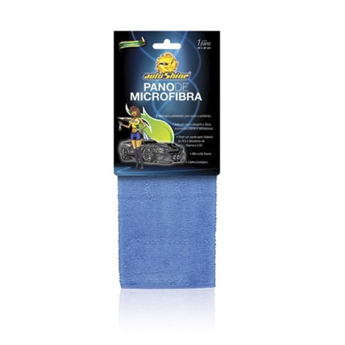 Flanela De Microfibra Azul Autoshine 38X38