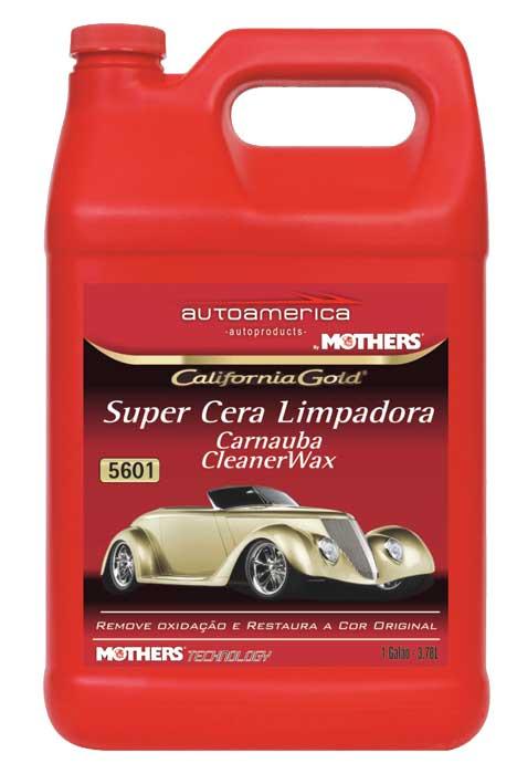 Super Cera Limpadora  Líquida Mothers 3,78 L Mothers Carnauba Cleaner Wax Liquid