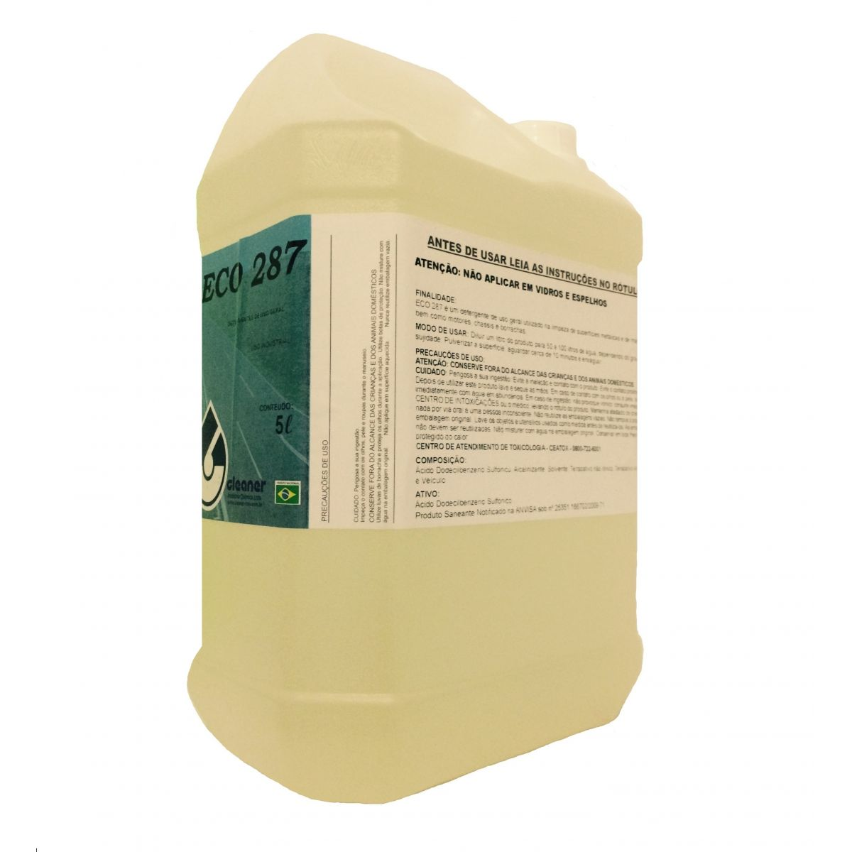 Detergente Eco 287 Cleaner 5 L