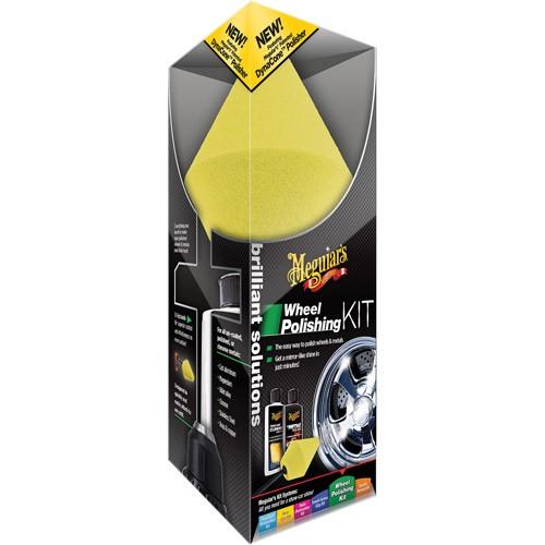 Kit Polidor de Rodas - Wheel Polishing Kit Meguiars G3400