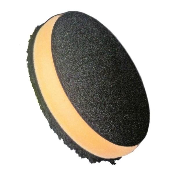 Boina de Microfibra Buff and shine com espuma laranja 5,5 pol
