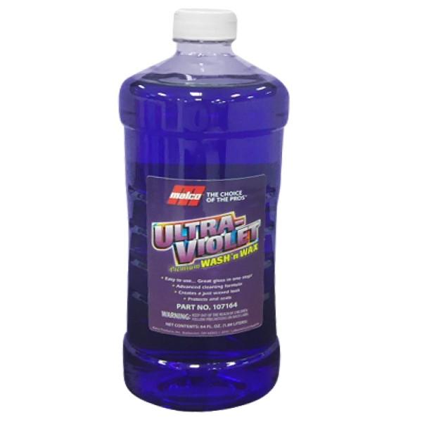 Shampoo Ultra Violet Premium Malco c/ Cera 1.89L