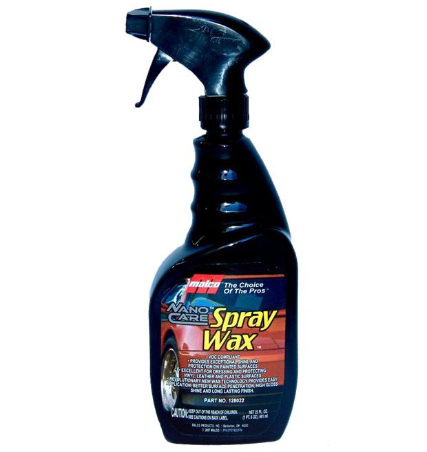Cera Líquida Nano Care Spray Wax Malco 650ml