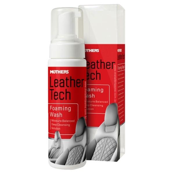Espuma Limpadora de Couro Leather Wash Foaming Cleaner 236ml Mothers