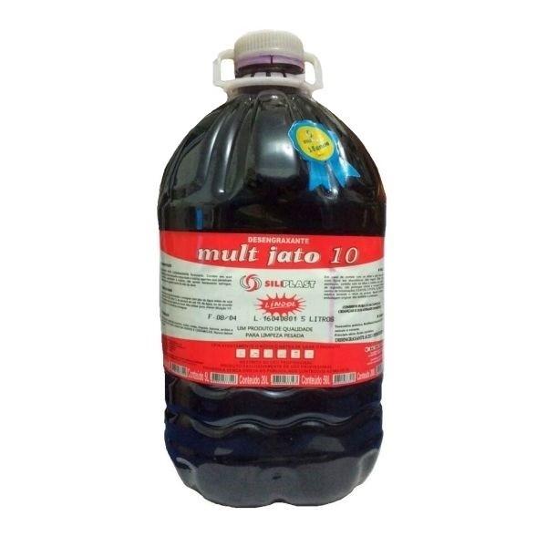 Desengraxante Mult Jato 10 - 5L Siliplast