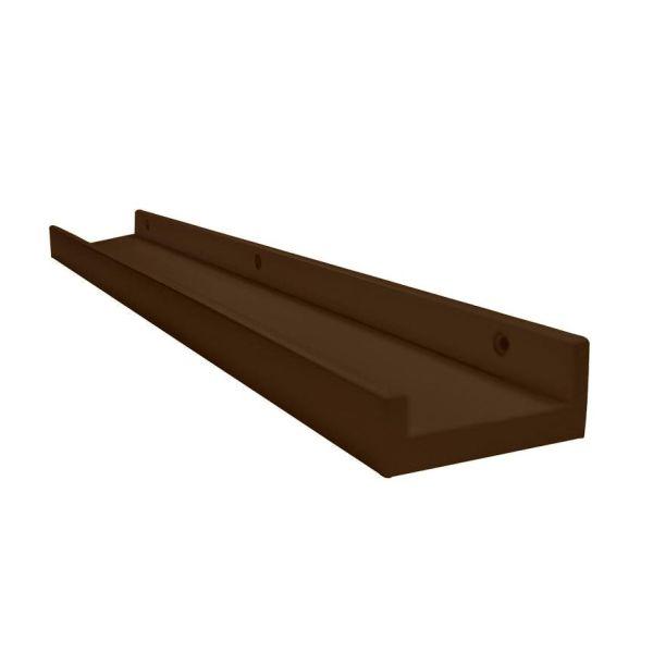 Prateleira Porta-Quadro Tabaco 90cm Moldurarte