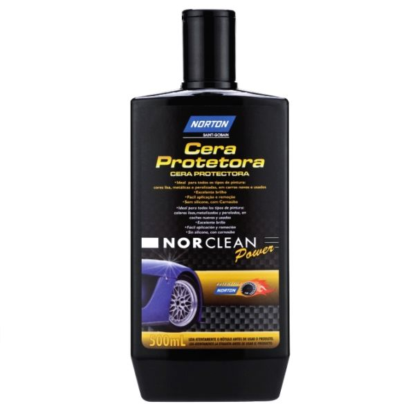 Cera Protetora Norclean Power 500ml Norton
