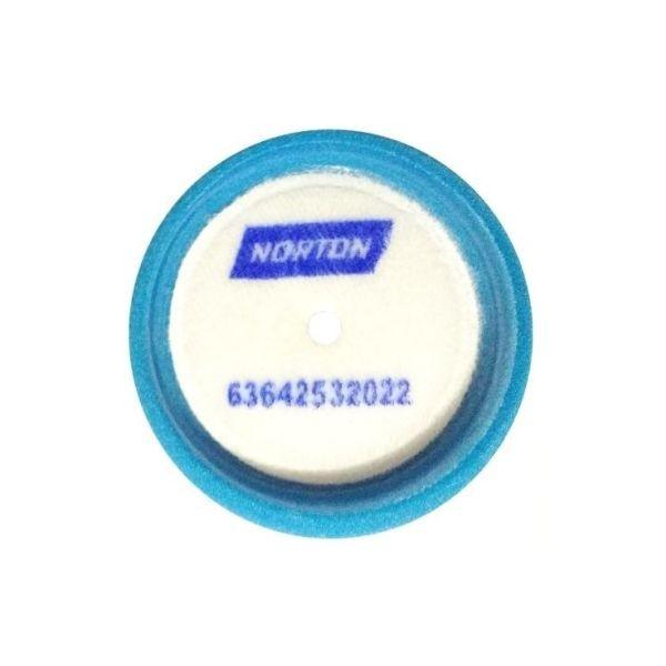 Boina de Espuma Azul Média 3 pol Liquid Ice Norton