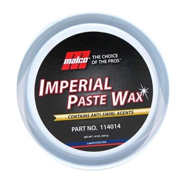 Cera de Carnauba Imperial Paste Wax 369g Malco
