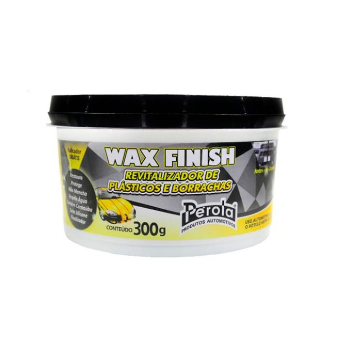 Revitalizador de Plasticos Wax Finish 300g Perola