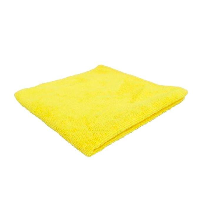 Pano de Microfibra 28x28cm 230Gsm Amarelo Unidade 4Wash