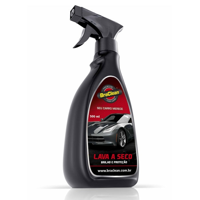 Lava a Seco Premium Car Care Braclean 500ml
