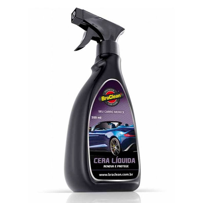 Cera Liquida Premium Car Care Braclean 500ml