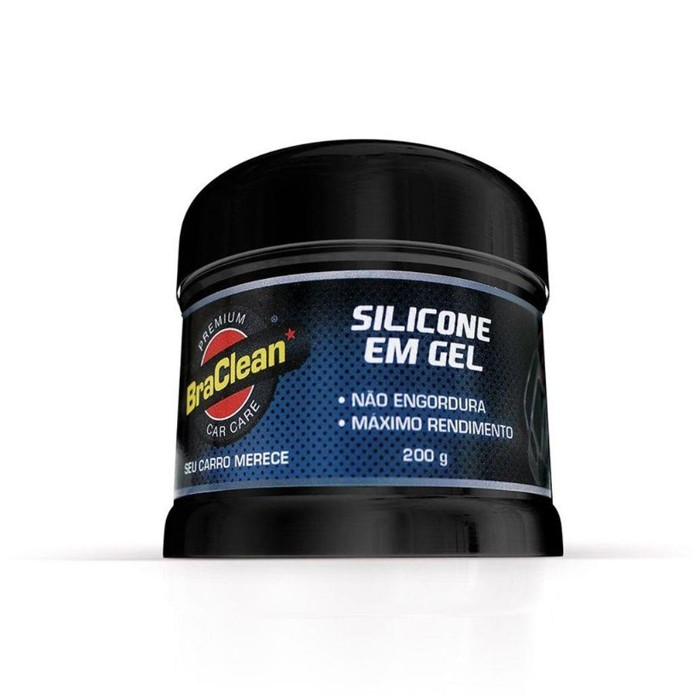 Silicone em Gel Premium Car Care BraClean 200g