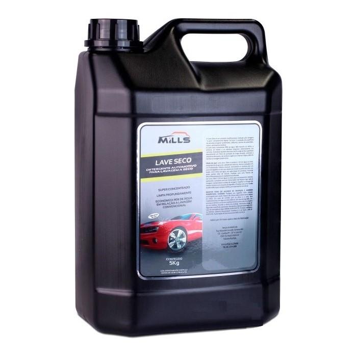 Lavagem a Seco Detergente 1-20 Lave Seco 5 Litros Mills