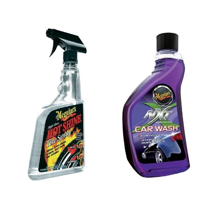 Kit Hot Shine G12024 Meguiars + Shampoo Nxt 12619 Meguiars
