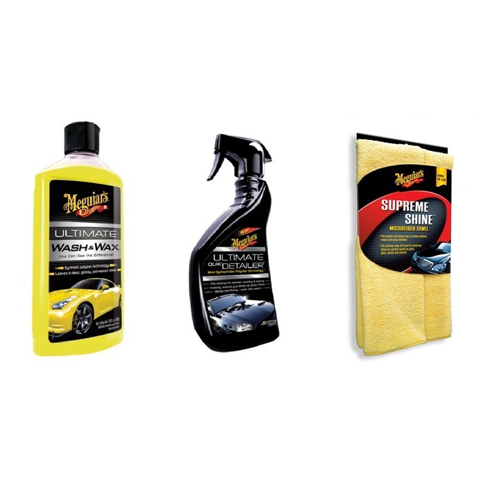 Kit Flanela X2010 + Shampoo G177475 + Quick Detailer Meguiars