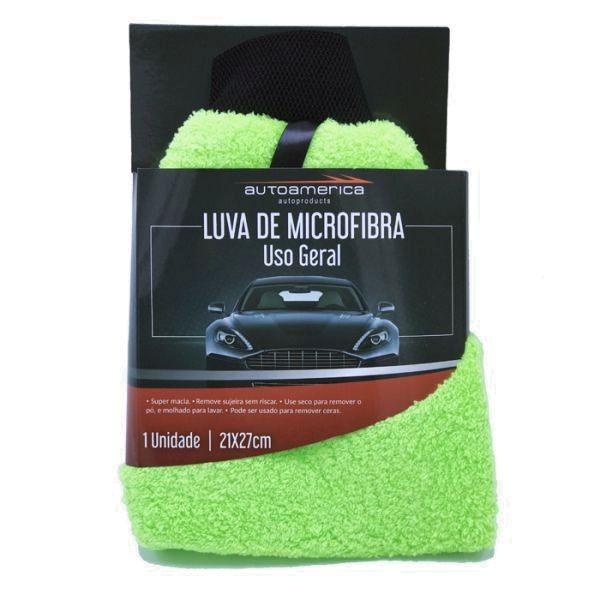 Luva de Microfibra Lisa 21x27cm Autoamerica