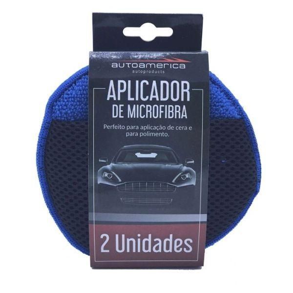 Aplicador de Microfibra com 2 Unidades Autoamerica