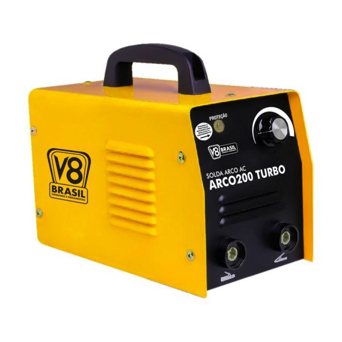 Solda Elétrica Arco 200 Turbo 60hz - 127v - V8 Brasil