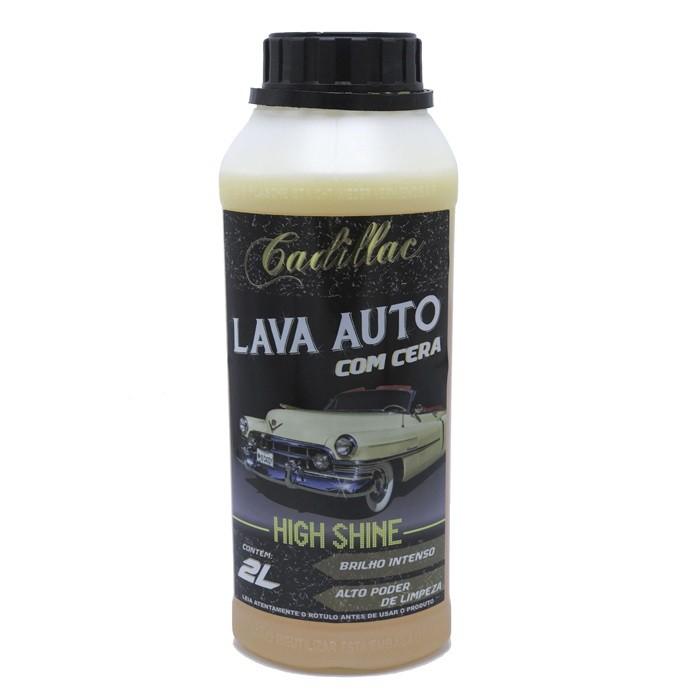 Lava Auto com Cera High Shine 2 Litros Cadillac