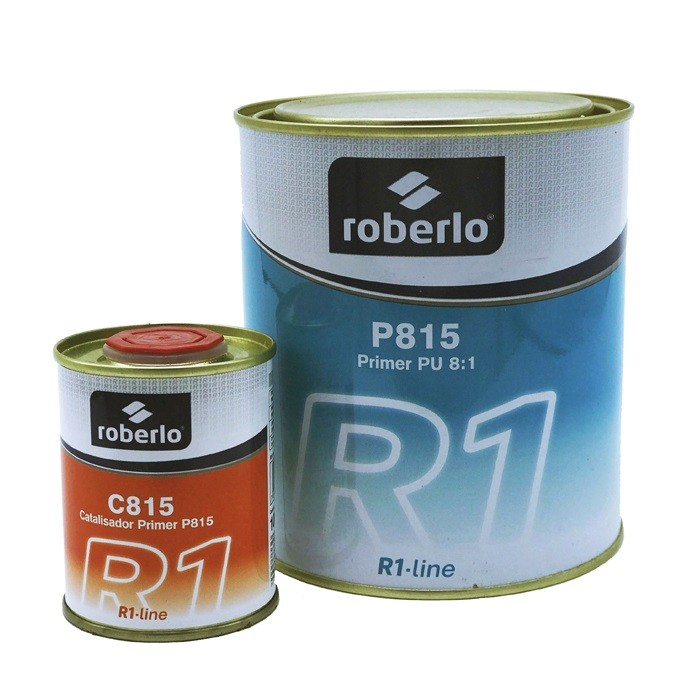 Kit Primer Pu P815 800ml + Catalizador C815 100ml Roberlo
