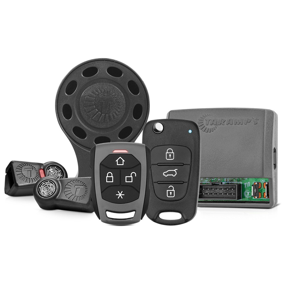 Alarme Automotivo Digital TW20 RF CH TR4 G4 Taramps