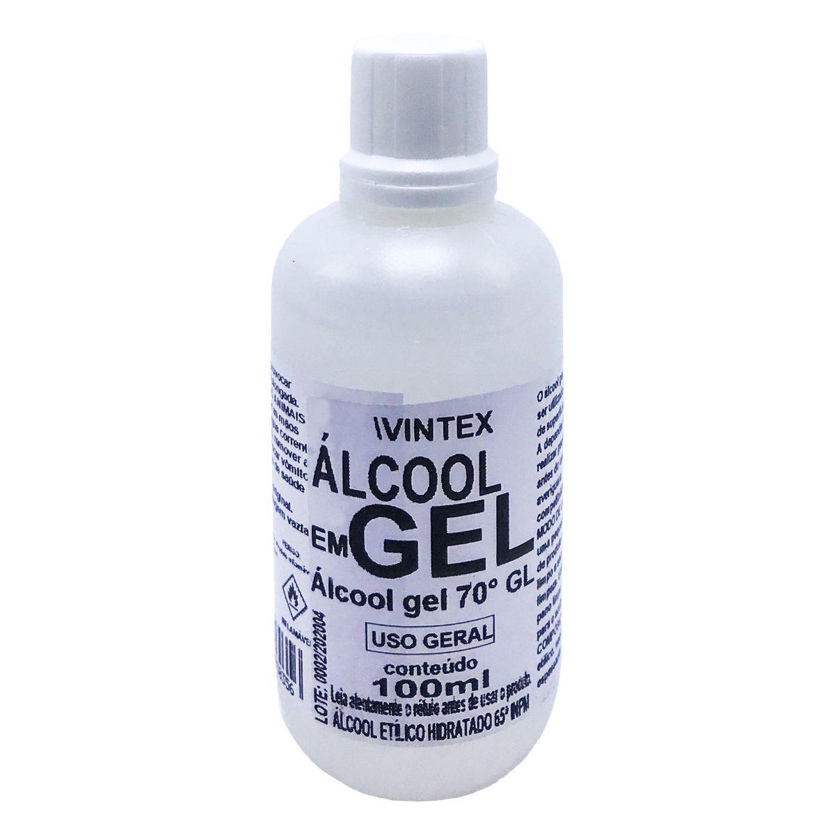 Álcool em Gel 70GL 100ml Vonixx