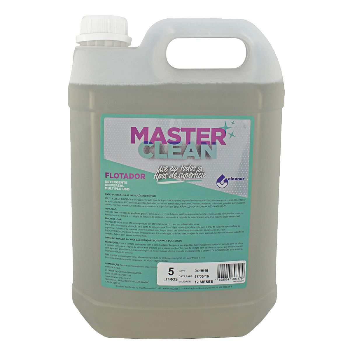 Apc Multiuso Master Clean Flotador Cleaner 5L