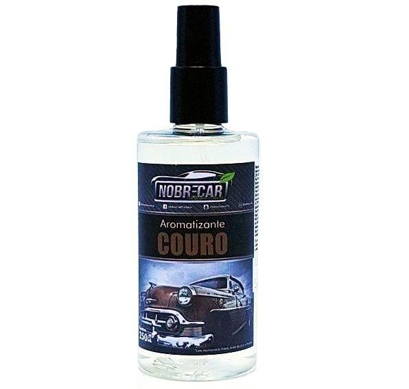 Aromatizante Couro Premium 250ml Nobre Car