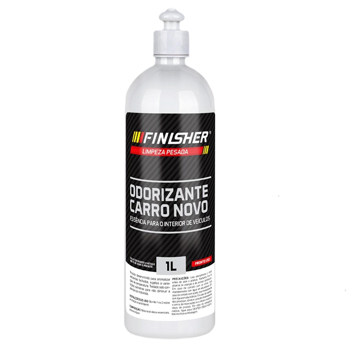Aromatizante Odorizante Carro Novo 1 Litro Finisher